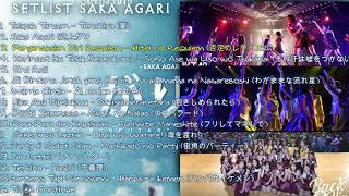 Download Lagu SAKA AGARI - BACK HIP CIRCLE JKT48 FULL SETLIST MP3