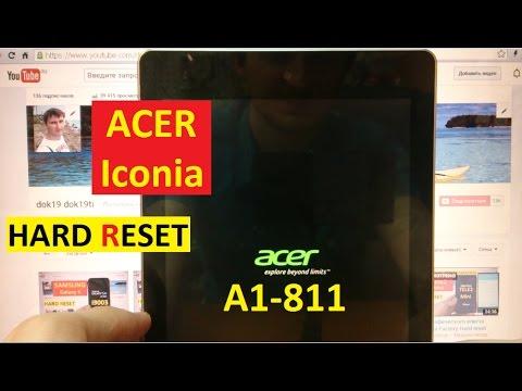 Как сделать хард ресет на acer a500 - Kazan-avon