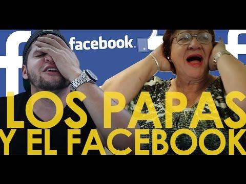 LOS PAPÁS CON FACEBOOK!