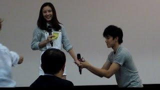 3. Aom Mike Meet&Greet ช่วงตอบคำถามFC @Full House Love Memory Special Trip 25May14