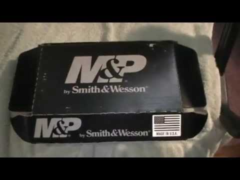 S&W M&P Shield 9mm No Thumb Safety Reveal Unboxing Review Comparison