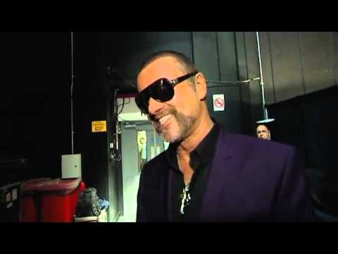 George Michael exclusive interview with ITV Central News @ Birminghame after arrival 160912