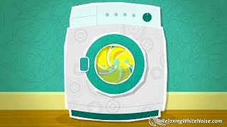 Baby Sleep Sound 10 Hours | Washing Machine White Noise | Soothe Baby, Infant Sleep, Calm Colic