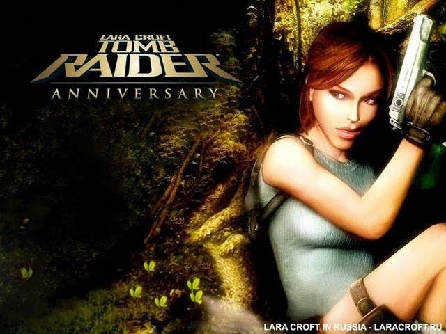 Посмотреть ролик - Tomb Raider Anniversary Прохождение с комментариями Глав