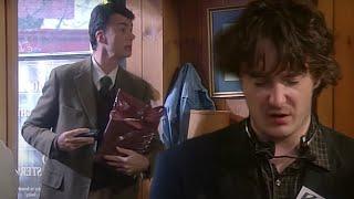 Blood | Black Books | Series 2 Episode 4 | Dead Parrot