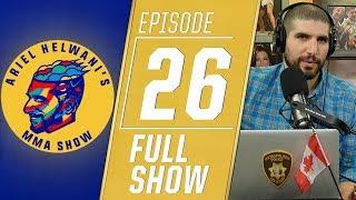 Al Iaquinta, Colby Covington, Vitor Belfort | Ariel Helwani's MMA Show [Episode 26 – Dec. 17, 2018]