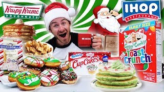THE HOLIDAY CARB COLLECTION CHALLENGE! (8,000+ CALORIES)