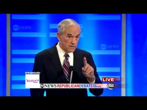 New Hampshire Republican Debate: Ron Paul Spars With Newt Gingrich Over Military Record