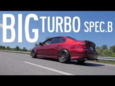 400hp Legacy GT Spec B // Gears and Gasoline