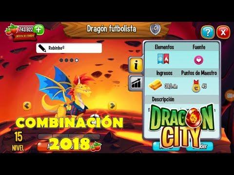 Combinación Dragon Futbolista 2018
