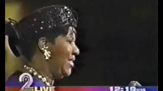 Aretha Franklin   Lift Every Voice & Sing   LIVE   YouTube