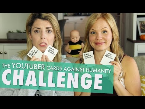 CARDS AGAINST HUMANITY w/ LISA SCHWARTZ // Grace Helbig