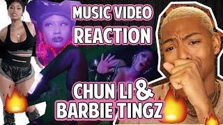 Nicki Minaj- Chun Li & Barbie Tingz MUSIC VIDEO Reaction!!