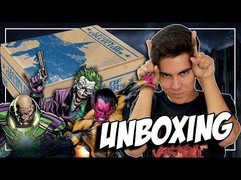 UNBOXING DE VILLANOS DE DC COMICS   Caja de Peliculas