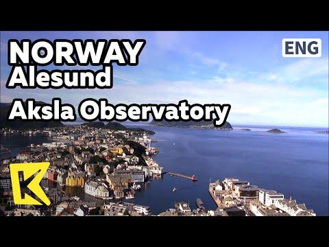 【K】Norway Travel-Alesund[노르웨이 여행-올레순]아르누보의 도시 올레순/Island/Lighthouse/Port/Observatory/Sunset