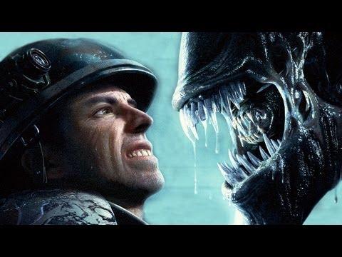 RUN HUMAN RUN (Aliens Vs Predator)