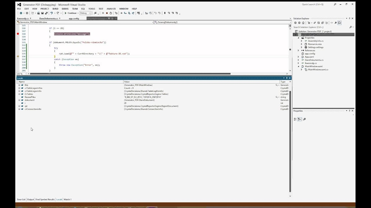 how to add crystal report template in visual studio 2010