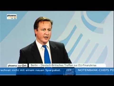 Angela Merkel und David Cameron - 18.11.2011