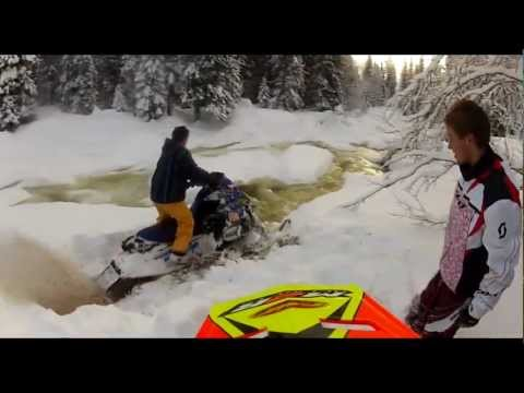 GoPro Hero HD2 - Snowmobile 2012