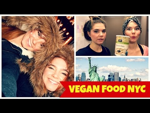 Healthy Inexpensive Travel Food- WHAT I ATE in NYC-VEGAN VLOG