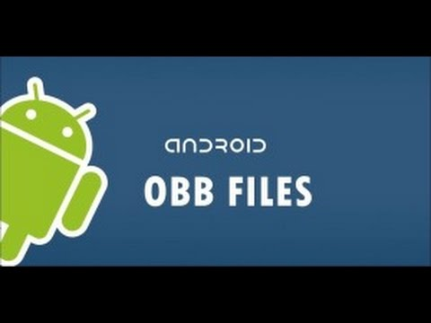 How to install android games with obb files