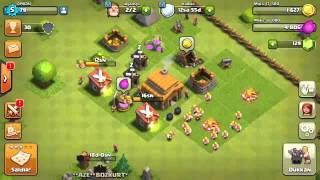 Clash of clans  sıfırdan  11e #1