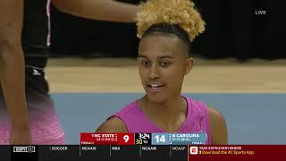 2019.02.24 #9 NC State Wolfpack at North Carolina Tar Heels Women's Basketball