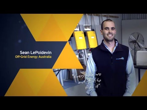 EOY 2014 Adelaide Off Grid Energy   Sean LePoidevin