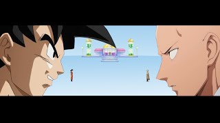 Goku Vs Saitama - Time Of Crossover # - 1 [DBZxOPM]