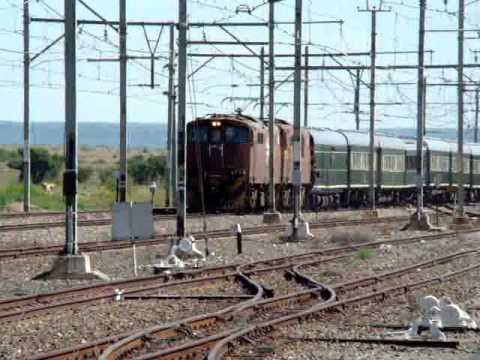 Transnet Freight Rail Class 6E1s at Riverton, NC South Africa