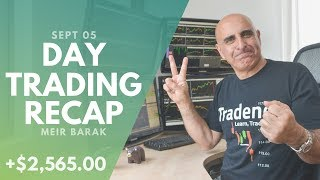 Day Trading Recap, Sept 5: How To Trade The Market Direction