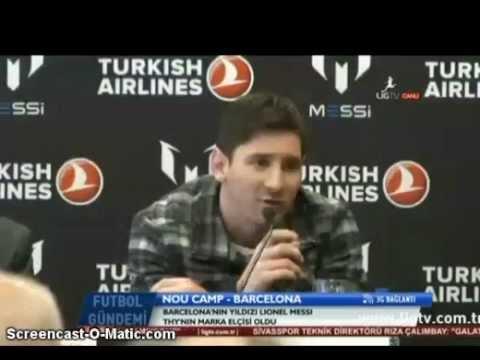 Messi Galatasaray için ne dedi?