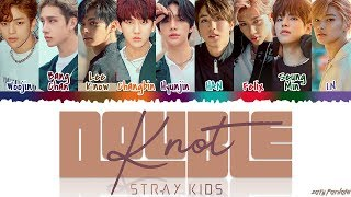 STRAY KIDS (스트레이키즈) - 'DOUBLE KNOT' Lyrics [Color Coded_Han_Rom_Eng]