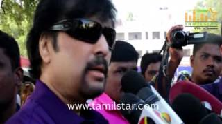 Stars At Nadigar Sangam Elections 2015 Part 1