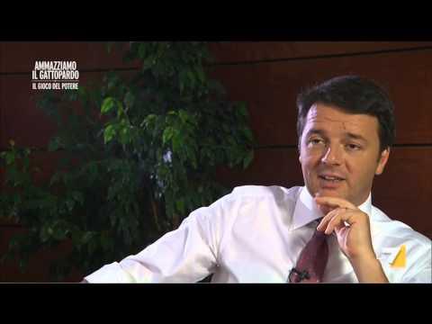 Ammazziamo il Gattopardo - Intervista a Matteo Renzi (Puntata 24/07/2014)