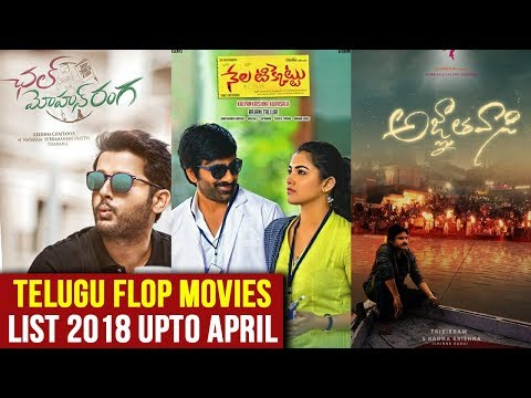 Telugu Flop Movies List 2018 Upto April  | Tollywood Updates