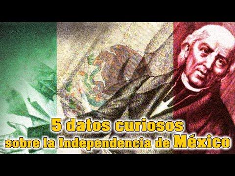5 datos curiosos sobre la Independencia de Mexico
