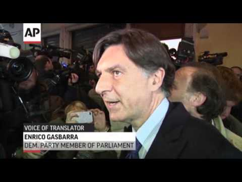 Italian PM to Resign Amid Party Tensions