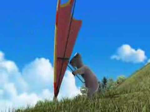 Polar Bear - Hang Gliding Video