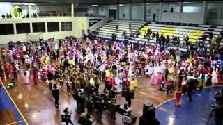 Centenas de crianças festejaram o Carnaval