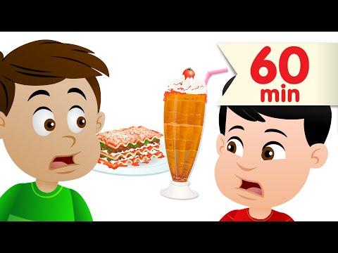 Do You Like Lasagna Milkshakes  + More Kids Songs  Super Simple Songs