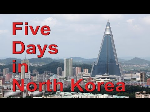 Five Days in North Korea - Pyongyang, DMZ, Dandong train