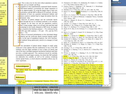 journal article review instruction