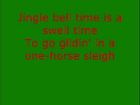 Jingle Bell Rock - Hall & Oates (With Lyrics)