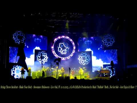 String Cheese Incident - Shake Your Body Down - Suwannee Hulaween - Live Oak, Fl 11- 2- 2103