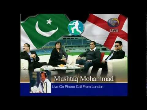 Sports Time with Ibrar Mir, Pakisan Historic 3-0 Whitewash against England 06-02-2012=Part-1.avi