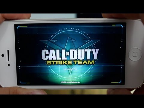 AppQuest - Call of Duty: Strike Team App Review & Gameplay ( iPhone. iPod Touch. iPad )