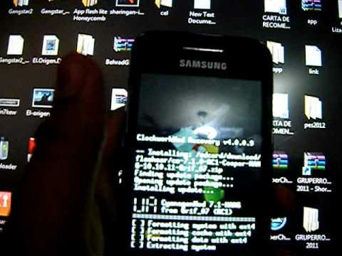 Cyanogenmod para samsung galaxy ace desde 0