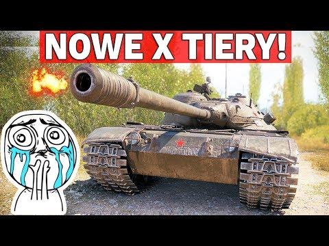 NOWE RADZIECKIE X TIERY - Będą OP? - World of Tanks