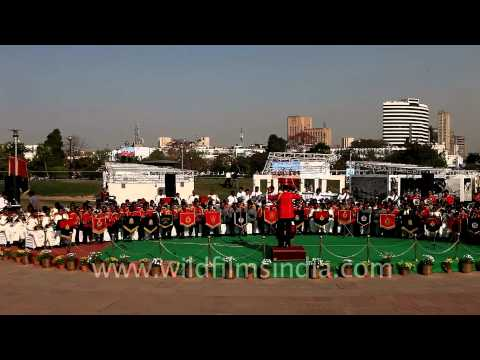 A fabulous musical celebration by Indian police bands